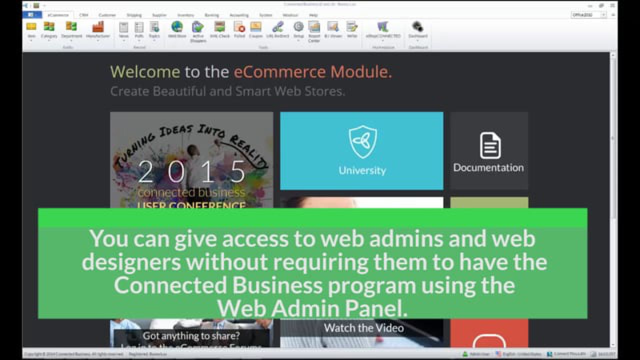 Give User Access to Web Admin Panel