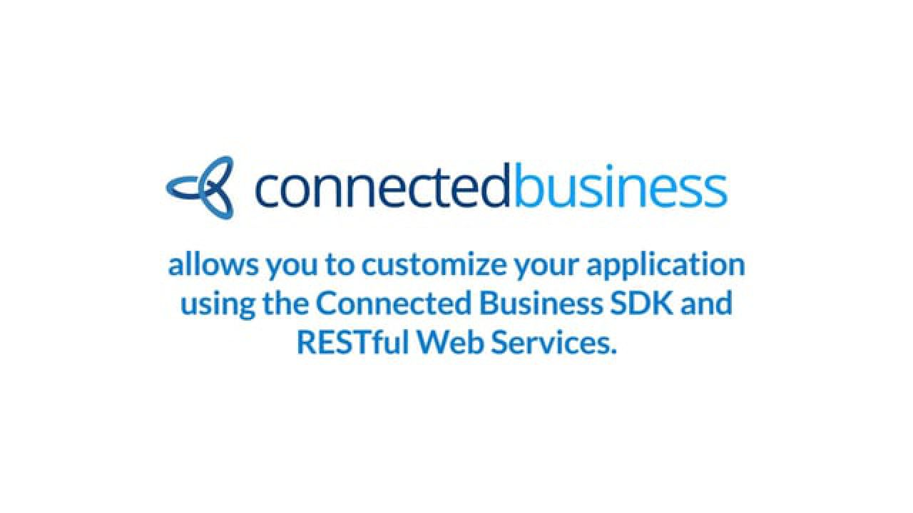 Connected Business - Connected Business SDK and RESTful Web Services