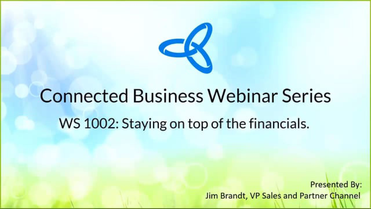 Webinar_Financials