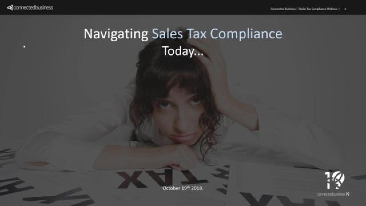 Navigating Sales Tax Compliance